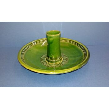 csirkesütő kerámia edény zöld