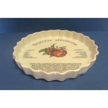 Porcelán gyümölcstorta sütő recepttel