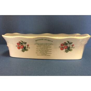 Porcelán gyümölcskenyérsütő recepttel