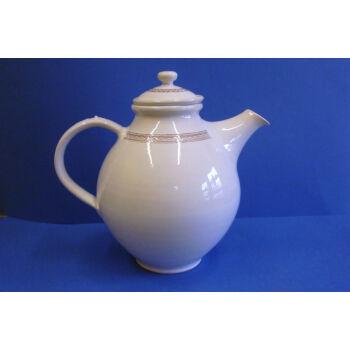 Fehér teakiöntő szűrőbetéttel