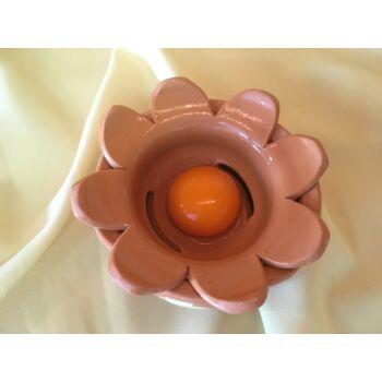Mázas kerámia tojás szétválasztó