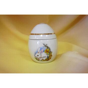 Álló tojás formájú bonbonier