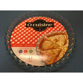 Tortalap sütőforma/pitesütő hőálló üvegből