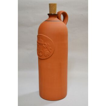 Pálinkás butella, címeres