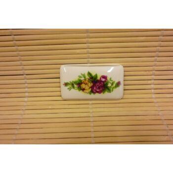Hűtőmágnes - tégla - három rózsás