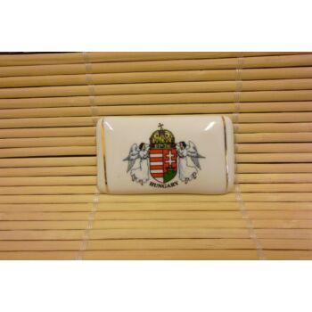 Hűtőmágnes - tégla - címeres