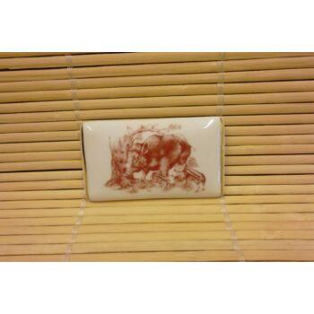 Hűtőmágnes - tégla - vaddisznós