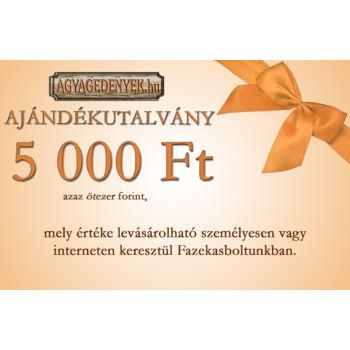 Ajándékutalvány 5 000 Ft biankó