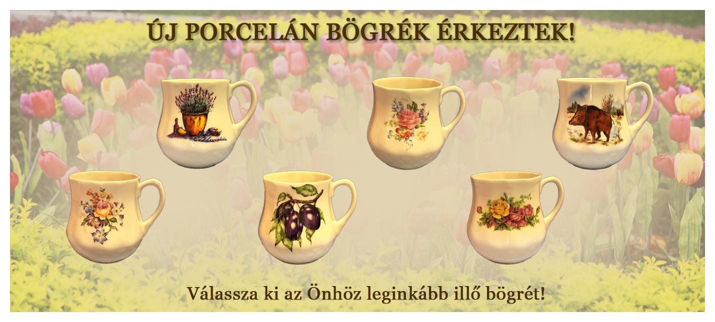 Új porcelán bögrék érkeztek! - agyagedenyek.hu